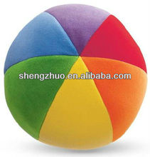 New design Plush soft colorful ball toy stuffed for baby