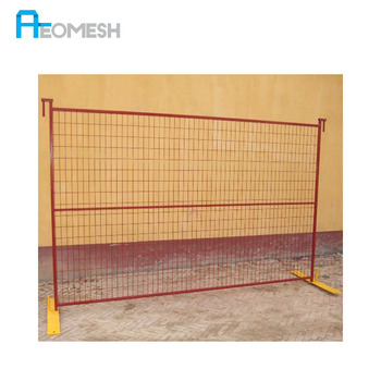galvanized metal construction Canada Australia used temporary fence