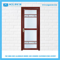 Good workmanship aluminum alloy glass door YC188