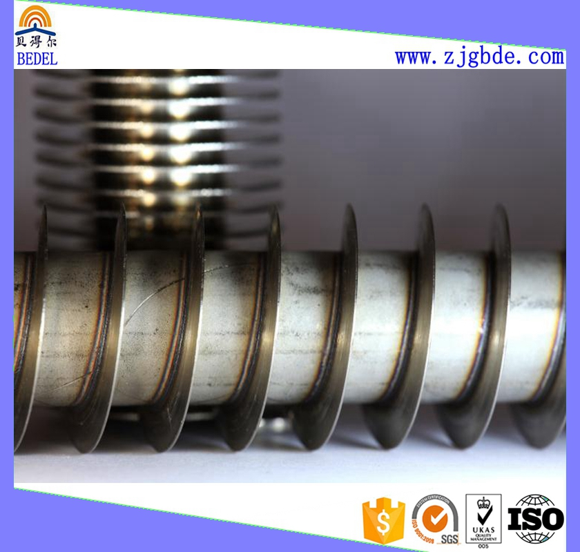 Fin tube finned high frequency welding studded used by heat exchanger equipment parts