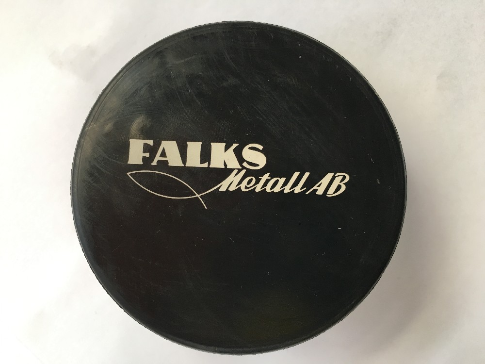 Logo Printed Silicone Rubber Ice Hockey Puck
