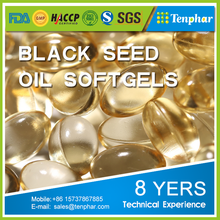 GMP Certified 1000mg Black Seed Oil Supplement Softgels