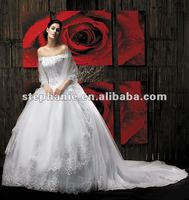 (F583) Guangzhou Stephanie Bridal Gown Wedding Dress