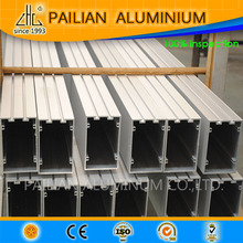 aluminum profiles with anodizing, powder coating and other finish used on curtain wall, hand rail, sliding windows