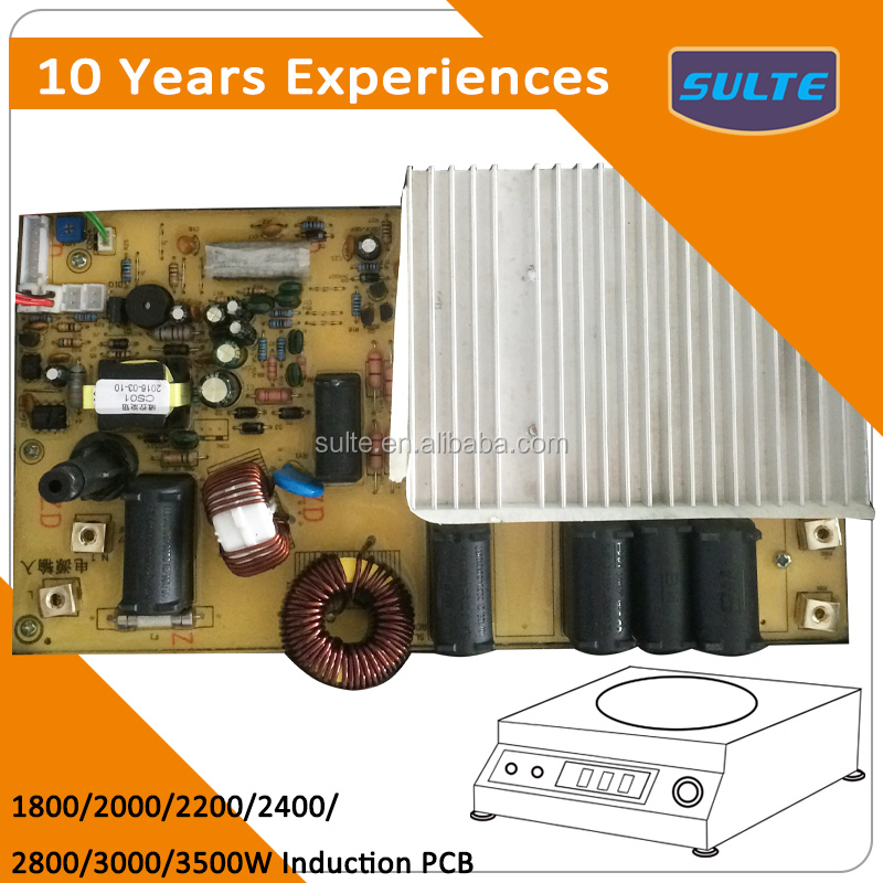 10 Years Europe Smart Induction Cooker Circuit PCB Board