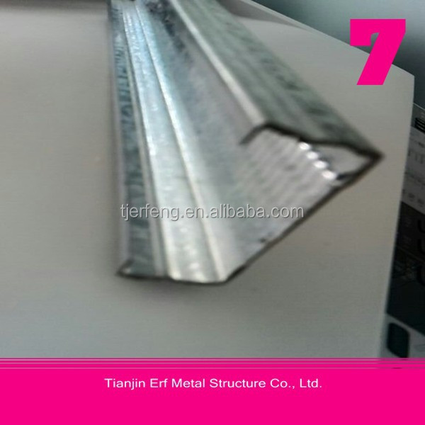 galvanized c lipped channel steel c section c purlin