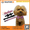 New Cute Dog Pet Puppy Bowtie Necktie Collar With Dog Pet Rope