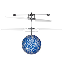 TY935 RC Toys Magic Flying Ball Fly Drone Disco Ball Infrared Controlled Floating RC Drone Quadcopter Gifts for Kids