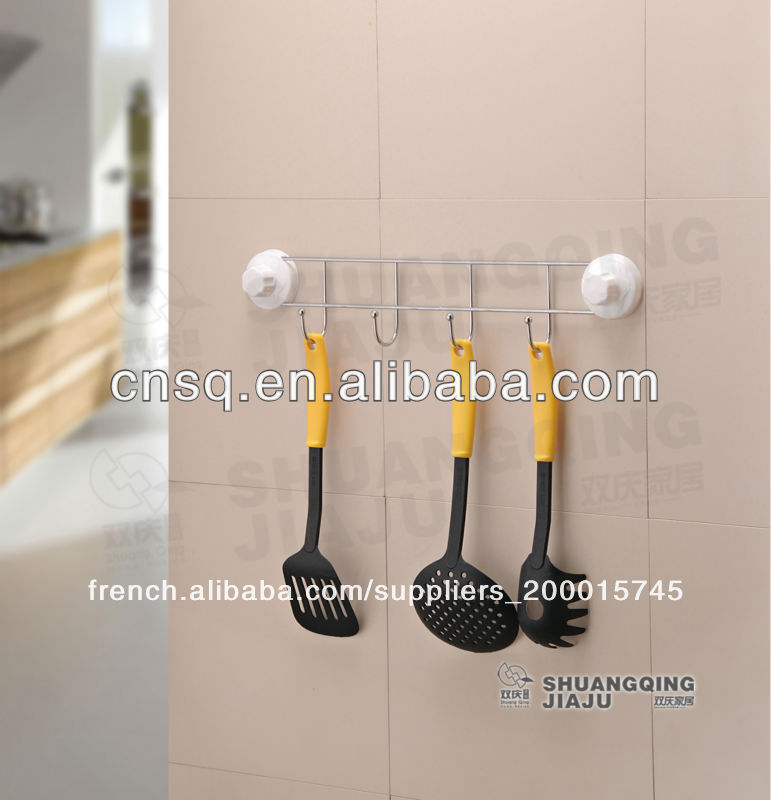 Cintre avec ventouse adsorption sur le muru0026 cuisine, rack ...