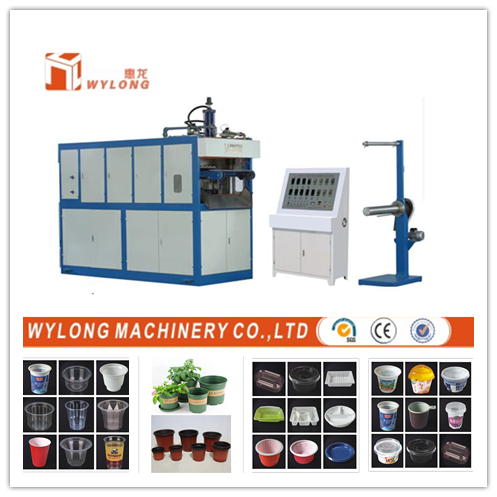 Thermoforming machine for Plastic cups making