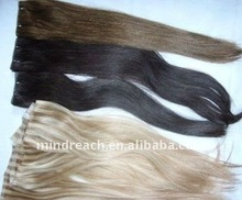 Hot selling Top quality 100% Brazilian virgin yaki skin weft with drop shipping thin skin weft hair extension
