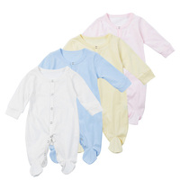 Wholesale Guangzhou High Quality Organic Cotton Blank Baby Onesie