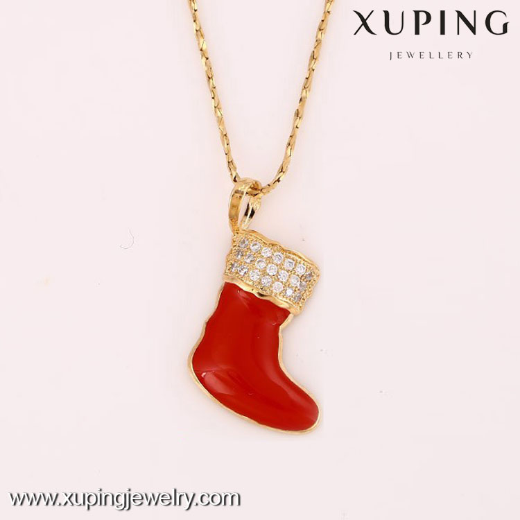 pendant-18-Xuping Christmas hot model cute pendant charm with different type
