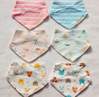 wholesale Christmas Gift manufacturer cotton cute disposable baby bib