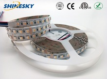 CE ROHS ETL approval 4 color in 1chip SMD5050 RGBW 24v led light tape