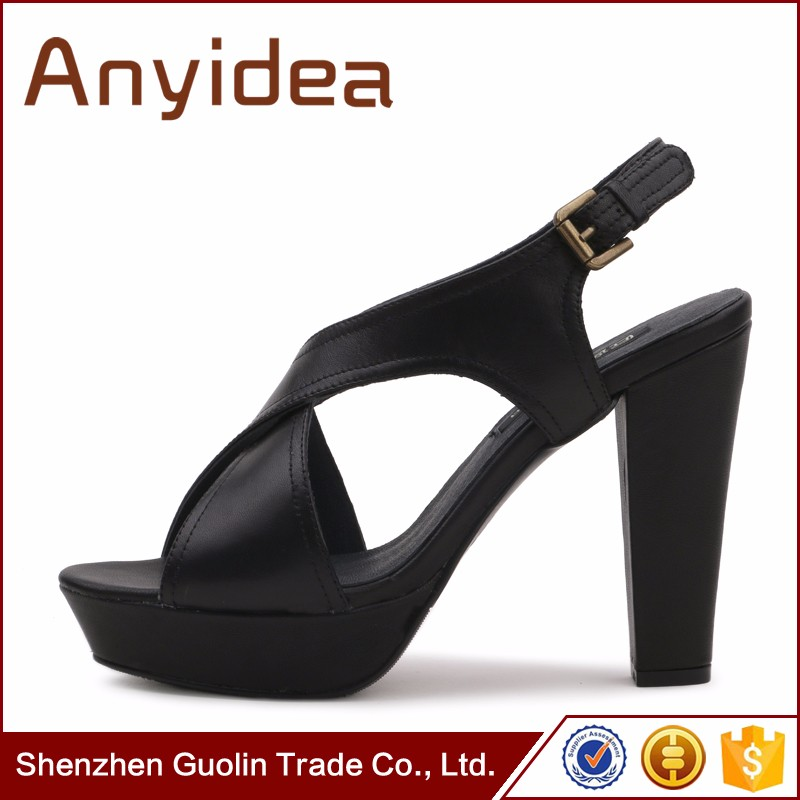 2017 big size ladies high heels sexy fashion high heel lady shoes factory with