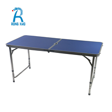 Quick Delivery 25MM camping table,Folding Adjustable aluminum folding picnic table