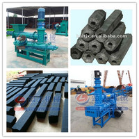 High quality good performance extruder coal charcoal briquettes making machine