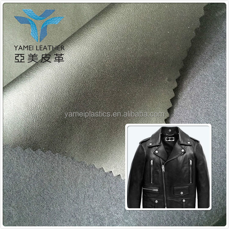 soft hand feeling artificial leather for garment