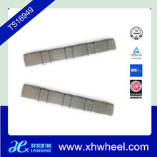 Fe steel stick on adhesive wheel weights for steel rim and alloy Rim