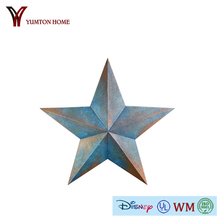 metal home decorative hanging Texas star for wall decor