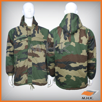 Hooded Military Parka (French Camouflage)