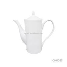 500ml personalized common use china bone household tea pot for commercial
