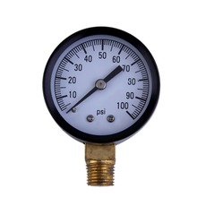"1pcs Simmons 1305 0-100 PSI 1/4"" Well Pump Water Pressure Gauge TS50-100PSI high quality Brand New"