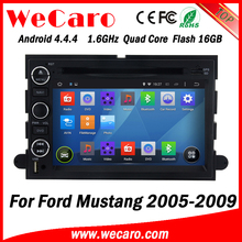 Wecaro WC-FU7302 Android 4.4.4 gps HD for ford mustang car dvd player 2005 - 2009 Steering Wheel Control