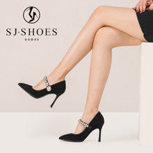 A0546 2018 latest design wholesale women shoe united states nice lady high heels