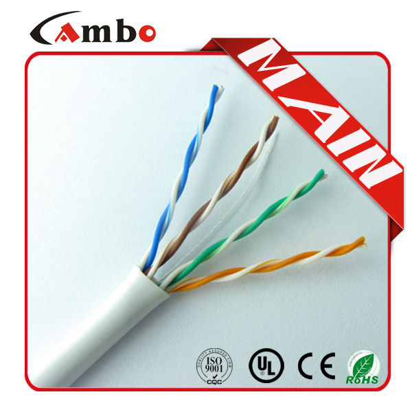 Low resistant loss 350MHZ 4 twisted pairs solid copper cat5e Network Installation Tool Kit