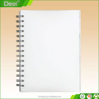 Customized wholesale spiral school notebook