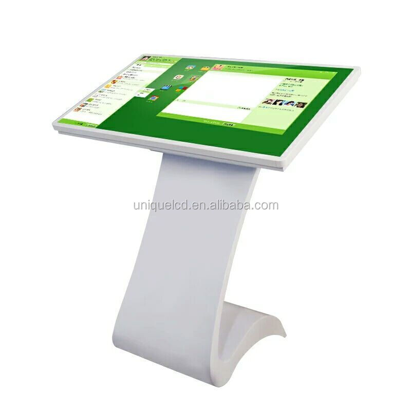 HD LCD touch screen kiosk android 4 4 gsm wifi smart wat