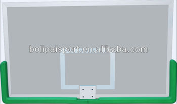 Super High Intensity Steel With Aluminium Alloy Frame Basketball Backboard