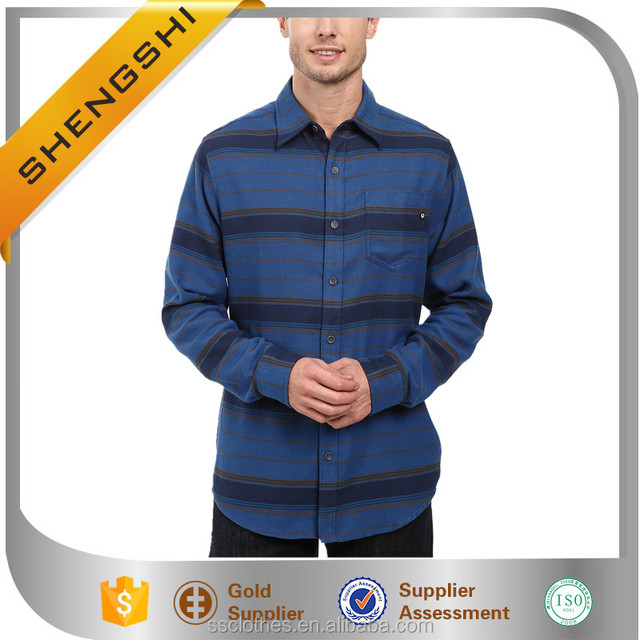 New style outdoor stripe design wholesale fancy fashion shirts for men