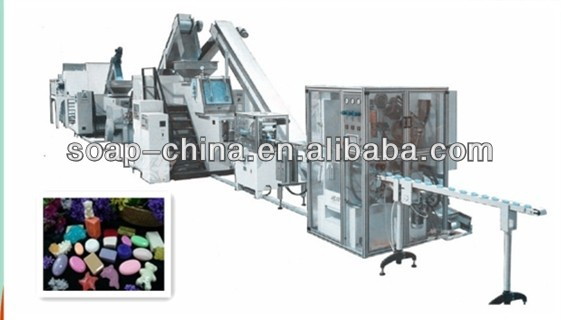 500kg/h toilet soap and laundry soap finishing line (soap making machine)