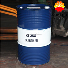 Kunlun KI25X KI45X High Voltage Naphthenic Insulating Transformer oil 25 45
