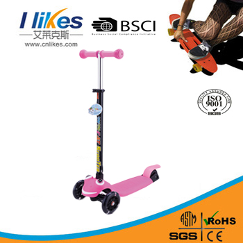 wholesale smart stand up adult 3-wheel trike scooter