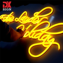 DK SIGN 2019 newest indoor japanese custom flexible tube neon light led letters signage