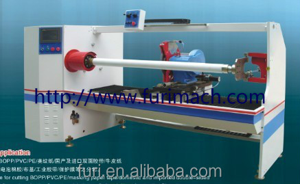 FR-1300C Adhesive tape slitting machine/ masking tape cutting machine/ bopp slitter/ pvc making machine