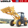 small front wheel loader with quick hitch for many accessories