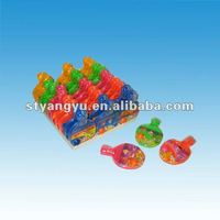 Table Tennis Bats Toy with Sweet Candy