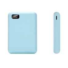Fashionable pad charger lithium polymer battery slim powerbank