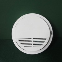 DC9V Sound and flash alarm Hush smoke detector for fire alarm