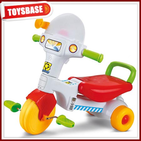Baby tricycle free wheel toy vehicle
