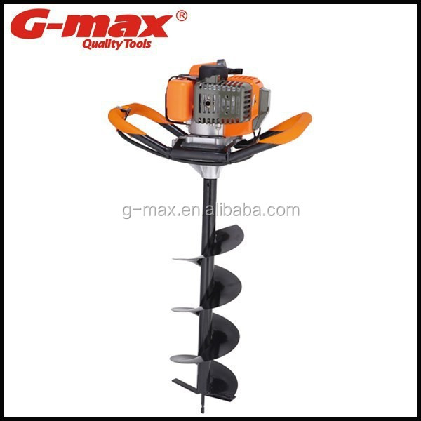 G-max High Quality Diaphragm Type 2-Stroke 52cc Manual Earth Auger GT29104