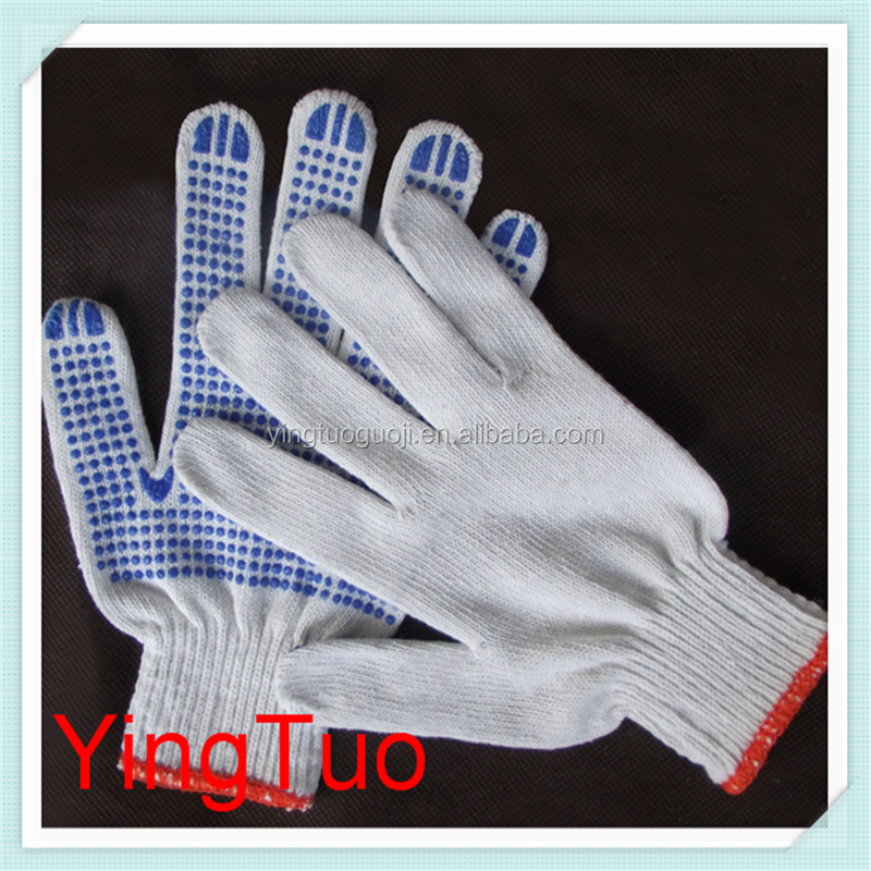 pvc dotted working gloves labor protection gloves hand gloves manufacturer
