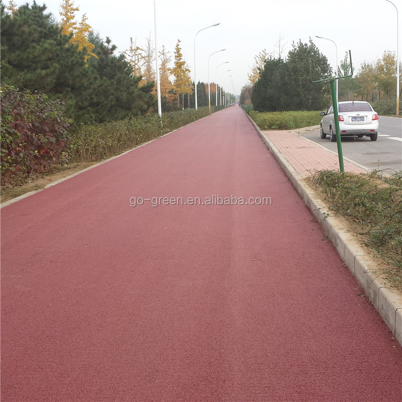 Hot Mix Colored Asphalt Emulsion / Cololess Asphalt Binder / Clear Binder