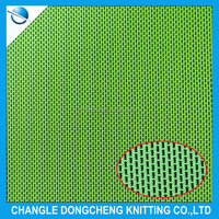 Polyester spandex mesh fabric tricot fabric for clothing lining and underwear