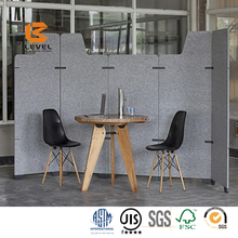 High Density Furniture Pinboard Acoustic Polyester Acoustic Panel PET Felt Sound Absorbing Ceiling Acoustic Panels